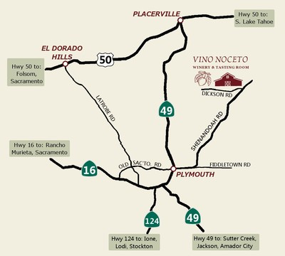 Map of Vino Noceto location