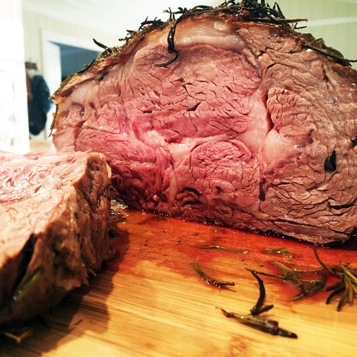 Lindy's Rosemary Prime Rib